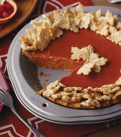 Delicious Pumpkin Pie Recipe from @wilton! Find the instructions to create this fall inspired pie on joann.com