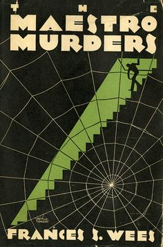 Mystery book covers by Eugene Thurston