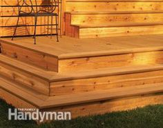 deck stair, deck step ideas, deck steps diy, deck design, how to build deck steps, deck to patio transition, backyard, porch, garden