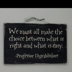 Dumbledore.....I like this very much