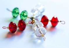 Magnetic+Beaded+Ornament+Hangers++Faceted+Oval+by+JustHangOn,+$12.50
