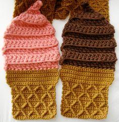 I love Twinkie Chan's stuff! crochet hat, twinki chan, crochet scarv, galleri, crochet freak, strawberri, fun scarv, crochet idea