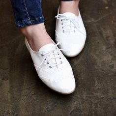 #yesstyle Wing-Tip Oxford Flats
