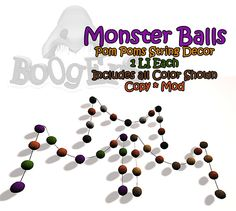 Boogers Monster Balls for FLF 9/18/14 http://maps.secondlife.com/secondlife/Rosewood/59/165/89