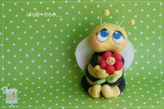 Chub-BEE Fondant Cake Topper by Sugar High, Inc.