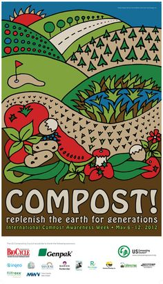 Whether you pile it, bury it or feed the worms with it, composting is easy and critical to the food system. ....Happy International Compost Week!   #Compost