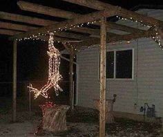 christmas dinners, funny christmas, funni, christmas decorations, christmas lights, redneck christma, deer camp, rednecks, the holiday