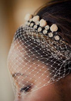 DIY Bridal Tiara Headband @Katie Estes - and here's a good hashtag to follow! #iDoDIY