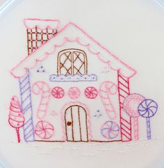 gingerbread house by Kimberly Ouimet, via Flickr