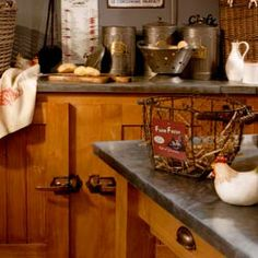 Cuisine on pinterest french country kitchens rustic - Antic line meubles ...