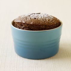 3-Point Individual Chocolate Soufflés chocol soufflé, weight watchers, cake, chocolates, low calories, individual chocolate souffles, food, recip, dessert