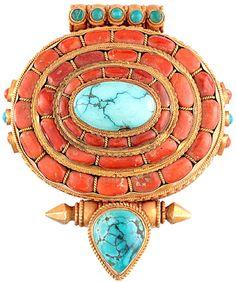 Gorgeous Tibetan Pendant