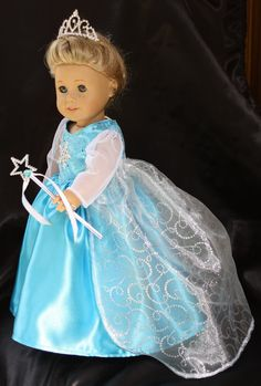 18 in. American Girl Doll Dress  inspired by by DollBabyDesigns1, $39.00