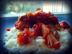 Delicious Salsa Chicken with Cheesy Rice