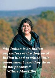 Definition of a Native American Indian...