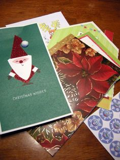 Don't recycle holiday cards yet!  Turn them into a picture book for silly family fun!