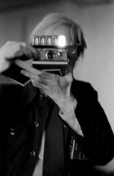 Andy Warhol #selfpor