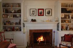 Decoration, Built In Bookshelves With Fireplace,2: Cool Ideas for Built-In Bookshelves with Fireplace