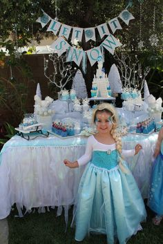 girl wonderland birthday one, birthday parties, frozen parti, lucki birthday, parti idea, frozen birthday