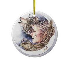 Earth Fairy Christmas Tree Ornament