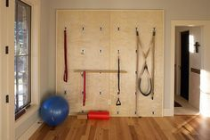 Hill Country Ranch Estate eclectic home gym