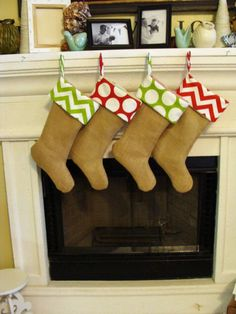 Burlap stockings Burlap I want you to make these for me please @Marianne Glass Glass Celino Brewer