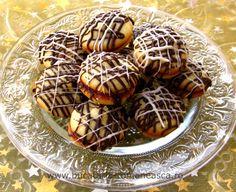 Fursecuri cu marmelada si ciocolata