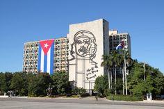 Plaza de la Revolucion en La Habana, Cuba