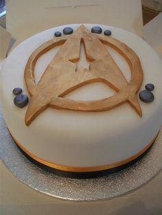 """Star Trek """"Star Fleet"""" Cake"""