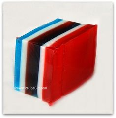 Red White and Blue Jello Jigglers « Seven Little Monkeys