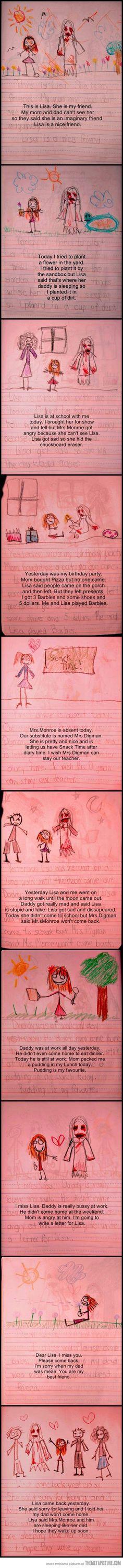 Creepy Little Girl Diary…