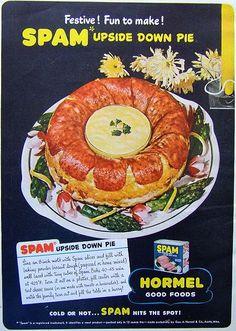 Spam Upside Down Pie