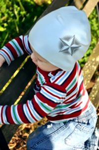 Baby Boy Hat - Newborn Infant Size