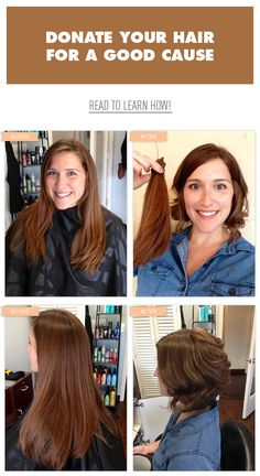 How To Donate Hair and Hair Donation Organizations...this is a good start for research...some general info.