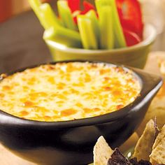 Warm Crab Dip - one of my fave thanksgiving appetizers