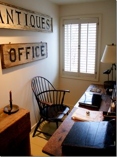 Nice office area decor, windsor chair, idea, inspir small, small office spaces, 15 inspir, small offices, offic space, small space