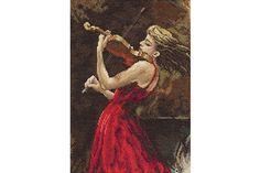 Violinist - borduurpakket - RTO