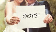 10 Summer Wedding Mistakes