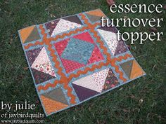 Thanksgiving Triangle Quilt | Free Quilt Tutorial | FaveQuilts.com