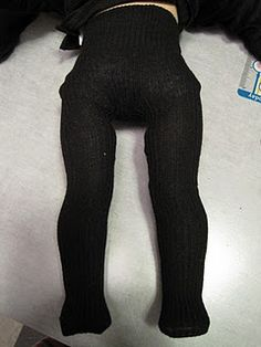 American Girl Tights from an adult knee sock