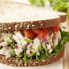 Turn leftover roast chicken or rotisserie chicken from the supermarket into delicious chicken salad. Great as a sandwich or on its own!