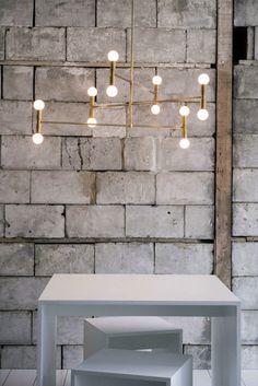 Lambert Fils Atomium Lamp