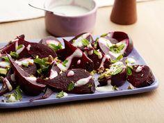 mints, food network, healthy eats, beet recipes, foods, healthi, balsam vinaigrett, creami balsam, mint recip