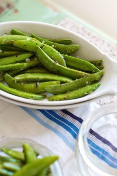 Easy Herbed Sugar Snap Peas Recipe: Simple Quick Vegetable Side Dish — Family Fresh Cooking