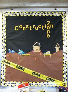 Construction theme board :)