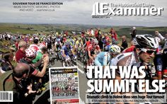 Tour de France Grand Depart - Huddersfield Examiner
