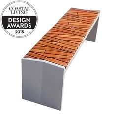 After already having made its mark designing beautiful benches, Forms + Surfaces delights us with the Boardwalk Bench. True to its name, the seating is made with hardwood repurposed from portions of the Atlantic City Boardwalk that were replaced in ongoin