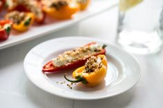 Goat Cheese Stuffed Peppers: Spectacular Summer Appetizer For Your Next Barbecue