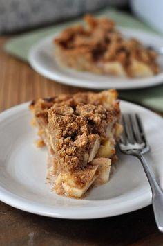 yum! Apple Crumb Pie