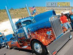 custom rig, badass, custom big rigs, custom big trucks, collect galleri, ass truck, world maps, truck mod, map app